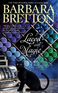 Review & Blog Tour: Laced with Magic by Barbara Bretton