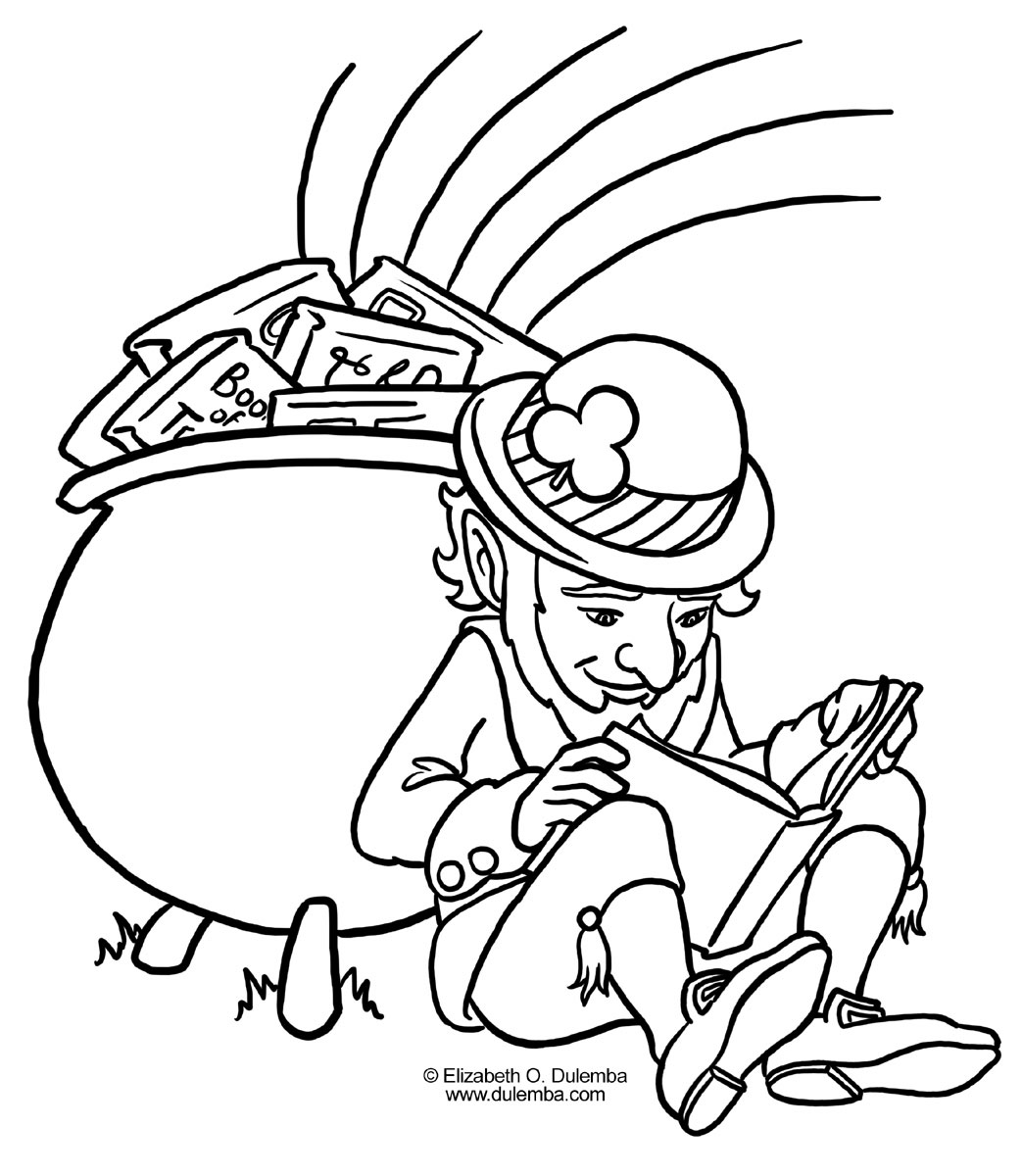 fado chicago st patricks day coloring pages | Happy St. Patrick's Day!