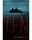 Mx3 Review: Ten by Gretchen McNeil