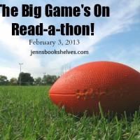 The Big Game's On Readathon: Pre-Game
