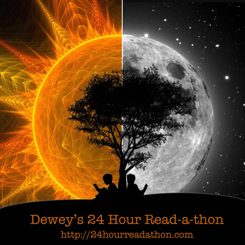 Výsledek obrázku pro dewey's 24 hour read-a-thon