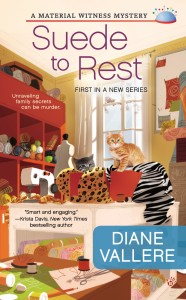 Review: Suede to Rest (A Material Witness Mystery) by Diane Vallere