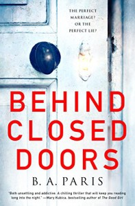 Review: Behind Closed Doors by B. A. Paris